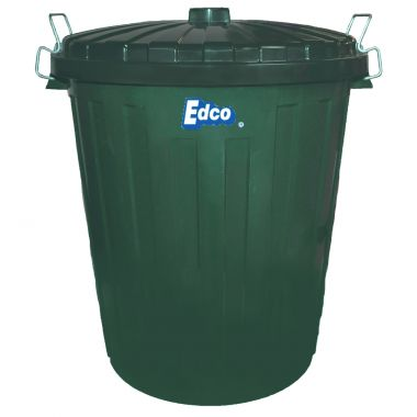 Plastic Garbage Bin with Lid (55L)