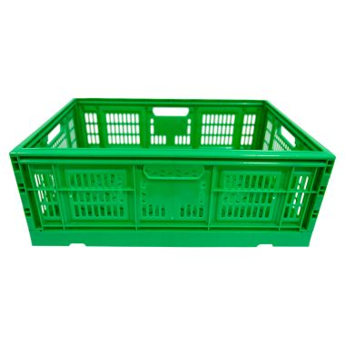 Vented Folding Crate