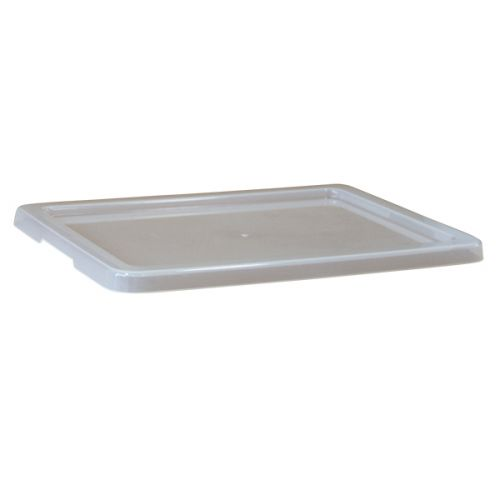Lid to suit MP5 Food Grade Plastic Crate - Clear