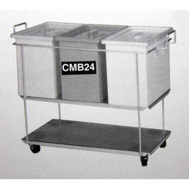 Multi Bin Trolley (3 x 24L Bins)