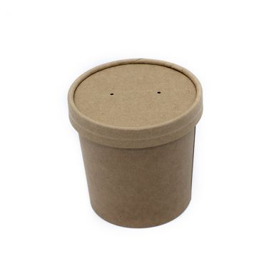 BetaKraft™ 12oz Round Container with Lid