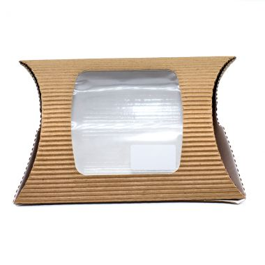 BetaSleeve™ Brown Kraft Takeaway Wrap Packs - Square