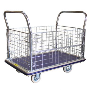 Single Deck Caged Platform Trolley (1170x790mm)