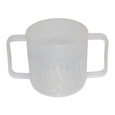 Mug Double Handle Clear 250ml