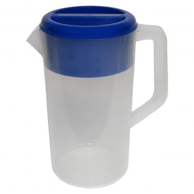 Heavy Duty Frosted Jug with Lid (2.5L)