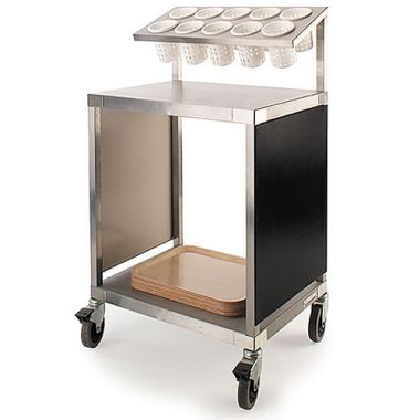 Tray and Cutlery Trolley