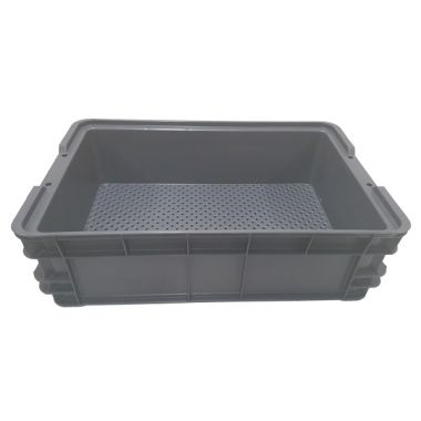 25L Nally Solid Crate with Drainage holes in base