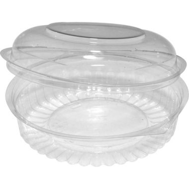 Round Hinged Dome Lid Container (20oz)