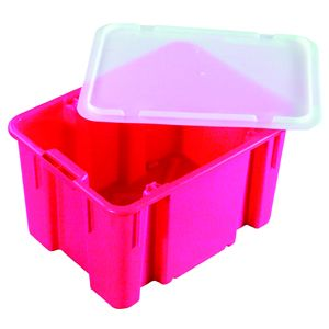 45L Nally Solid Plastic Crate
