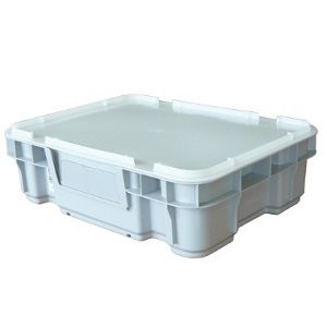 22L Nally Solid Intelli-Tote Crate