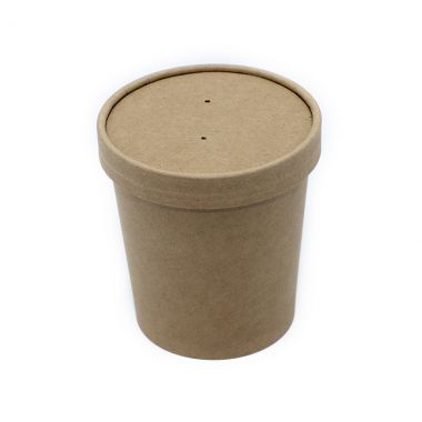 BetaKraft™ 16oz Round Container with Lid